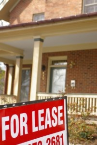 """House for sale with """"for lease"""" sign"""